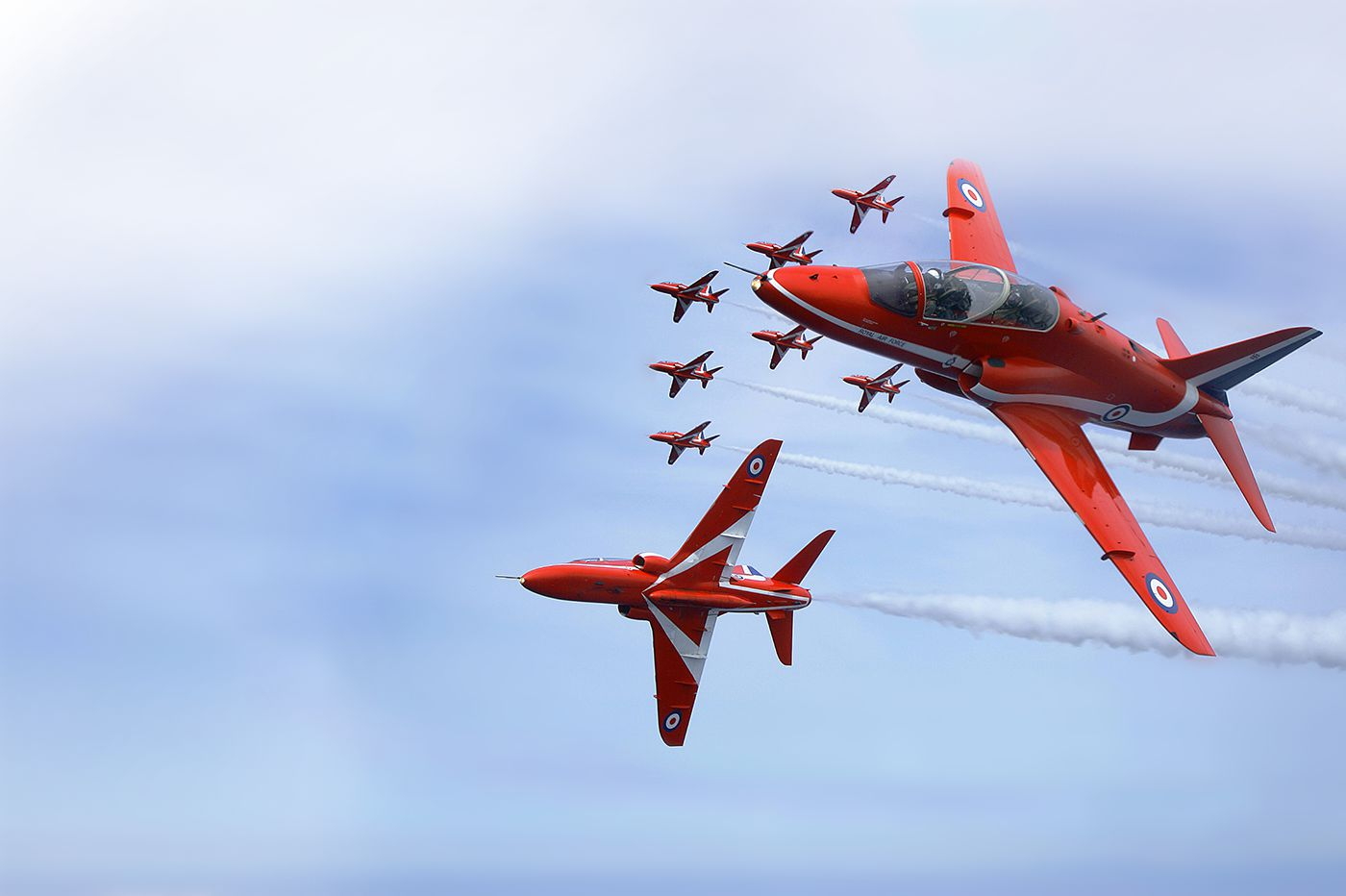 home-red-arrows